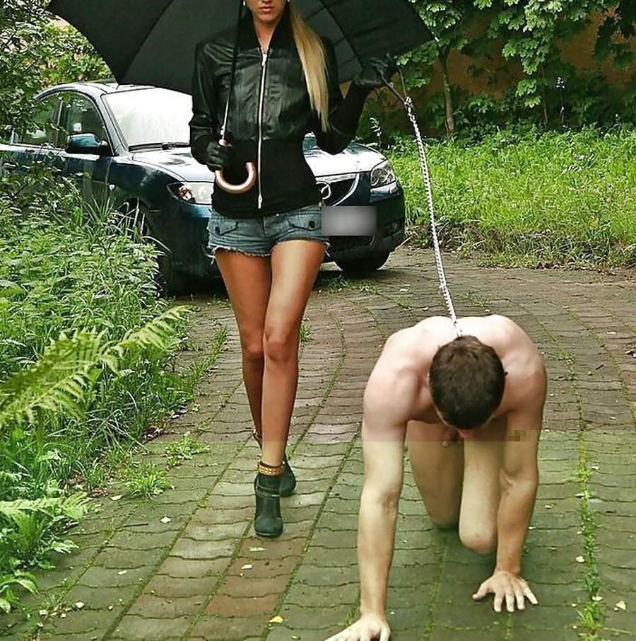 Giovane mistress di Trento cerca slave da portare al guinzaglio