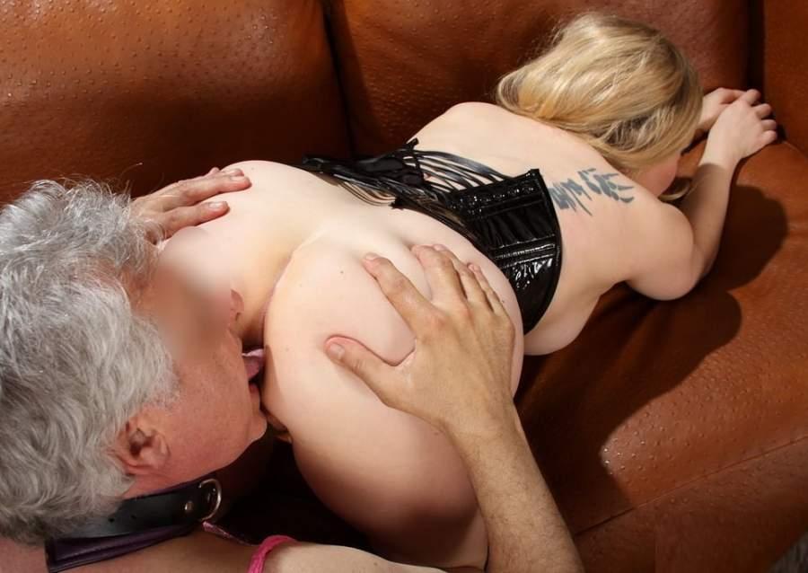 Mistress di Aosta fa sesso BDSM con slave maturi