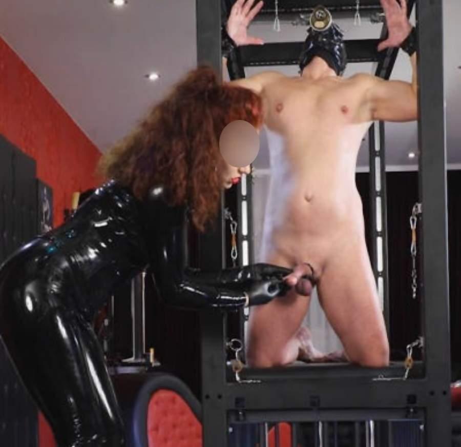 Mistress di Campobasso cerca slave per cock and ball torture